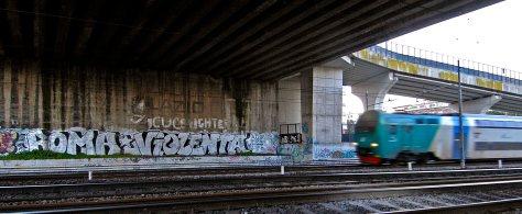 Graffiti al Nomentano