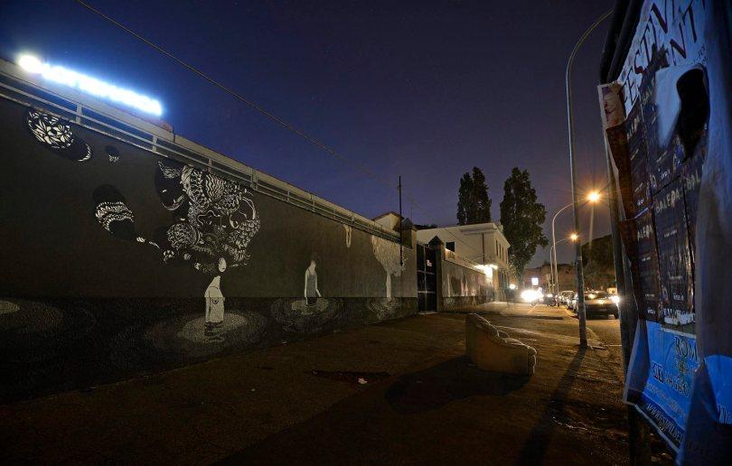 Murale di Herbert Baglione