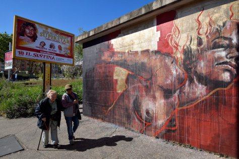 Murale di Guy Denning,