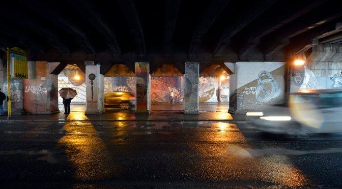 Via Ostiense, sottopasso ferroviario