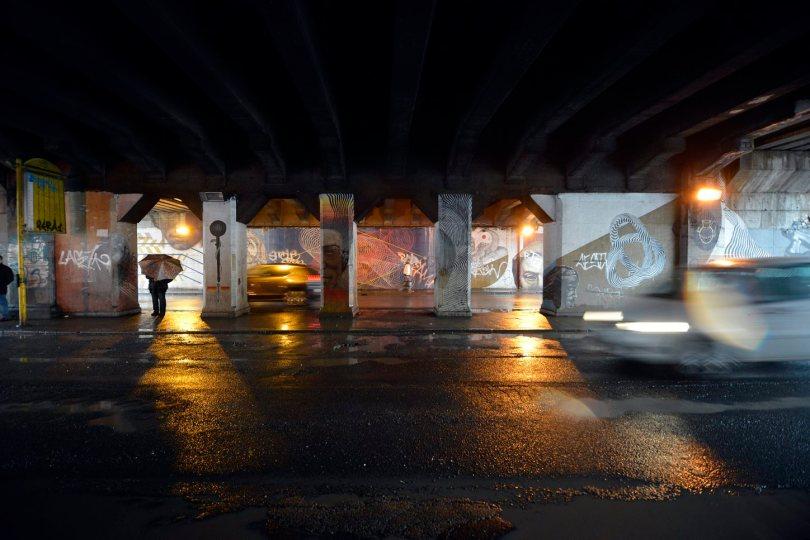 Via Ostiense sottopasso