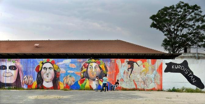 Testaccio. Centro Ararat al Campo Boario