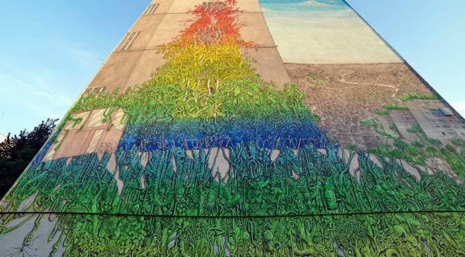 Murale di Blu a Casal dei Pazzi