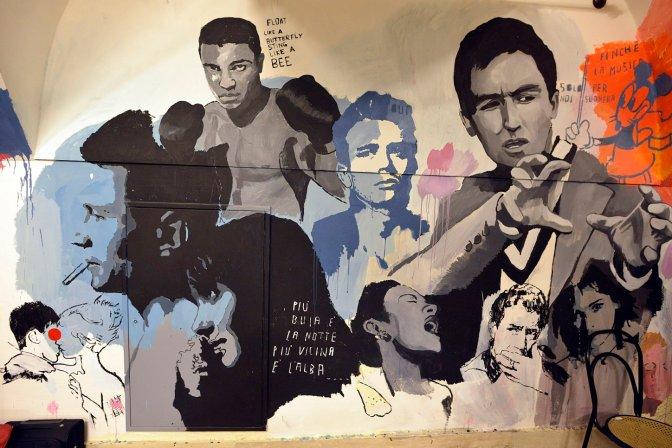 Trastevere. Street Art a Regina Coeli